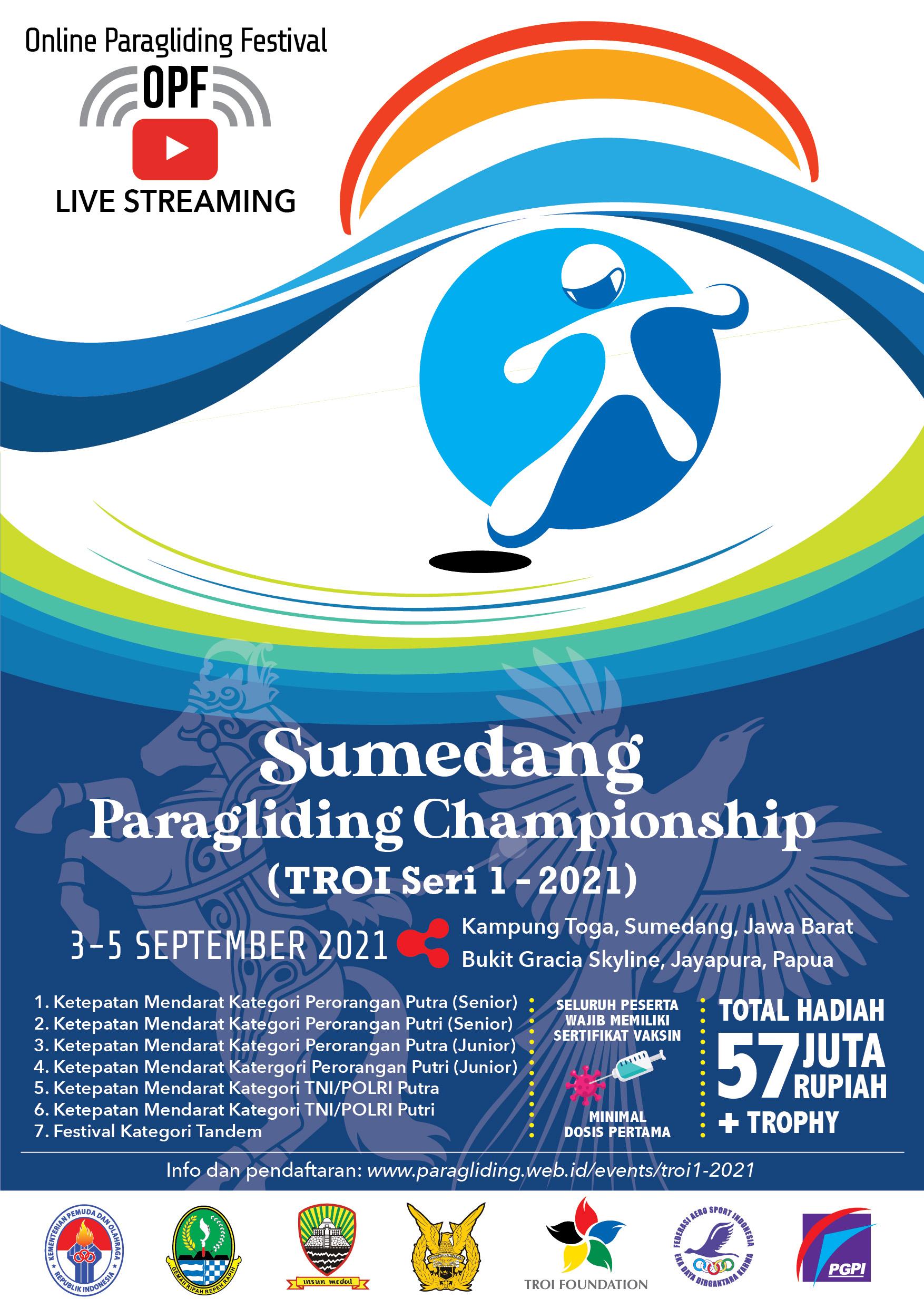FASI Paralayang adakan Sumedang Paragliding Championship 2021