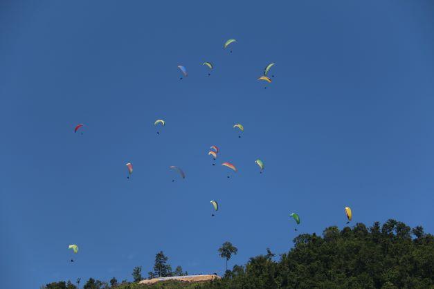 Hari Terakhir Cabor Paralayang PON Papua 2021