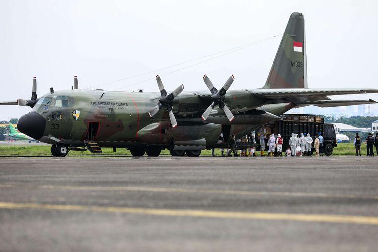 TNI-AU Beri Dukungan Herky Untuk Kegiatan TROI seri 2, Alor
